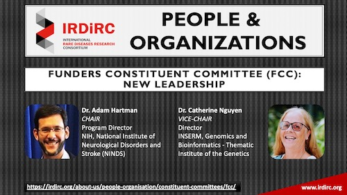 IRDiRC Funders Committee: New Leadership