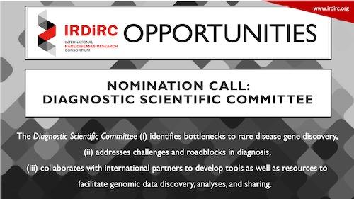IRDiRC Nomination Call: Diagnostic Scientific Committee (DSC)