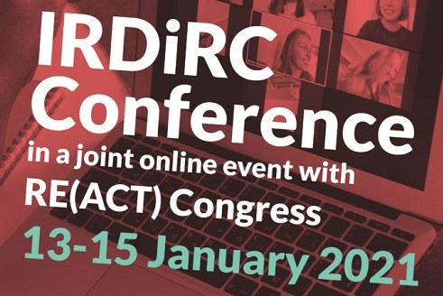 The IRDiRC Conference and RE(ACT) Congress moves online.